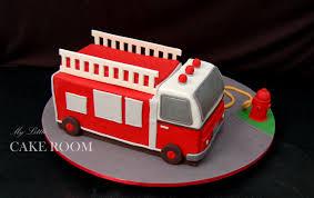 firetruck cake my cake room truck cake