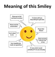 Smiley Meme - meaning of this smiley meme xyz