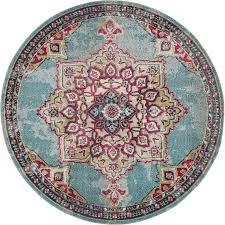 Rugs Vintage Home Rug Medallion Carpet Traditional Style Over Dyed Area Rugs