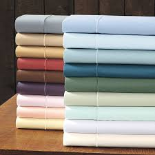 solid 400 thread count sateen sheets