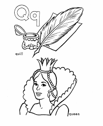 abc alphabet coloring sheets quill queen honkingdonkey
