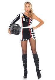 sports halloween costumes leg avenue race car driver costumes