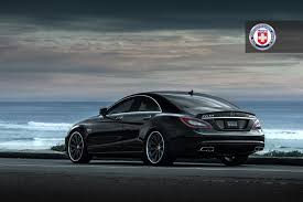 mercedes cls 63 amg black cls63 with hre wheels 943rl hre equipped cars