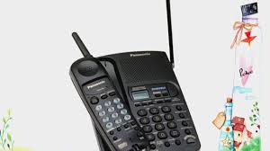 panasonic kx tc1740b 900 mhz analog cordless speakerphone with