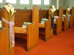 pew decorations for weddings wedding pew decorations flowers how to make wedding pew
