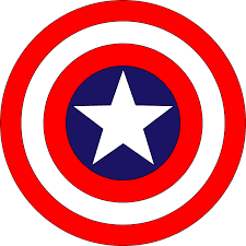 Us Flag Vector Free Download Captain America Logo Pdf U2013 Shield Vector Eps Free Download Logo
