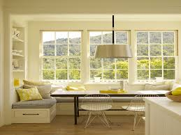Kitchen Nook Decorating Ideas by Bay Window Breakfast Nook Callforthedream Com