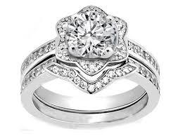 star wedding rings images Engagement ring star of david diamond engagement ring matching jpg