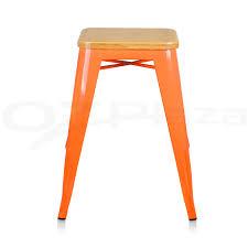 bar stools orange metal counter stool bar stools ebay wooden