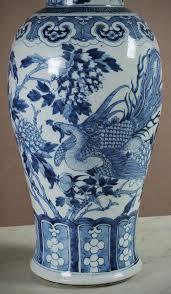 Chinese Vases Uk Large Pair Of Blue U0026 White Chinese Vases C 1890 308678