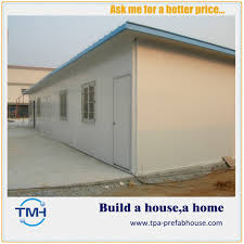 Prefab House by Flat Roof Prefab House Odm China Steel Structure Exporter