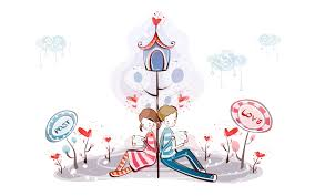 cartoon valentines day wallpaper 62 images
