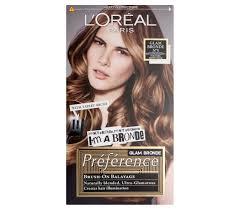 bronde hair home coloring préférence glam bronde no 5 l oréal paris