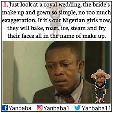Royal Wedding Meme - how different nigerians reacted to the royal wedding meme collection