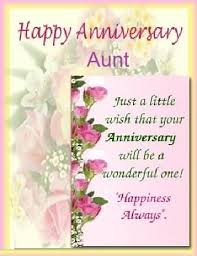 25th Wedding Anniversary Wishes Messages Beautiful Message Anniversary Wishes For Aunt Nicewishes