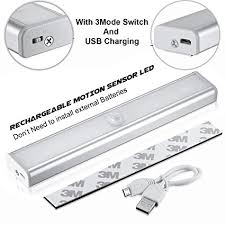 can you put a motion sensor on any light techzere rechargeable motion sensor pir 10 led night light stick to