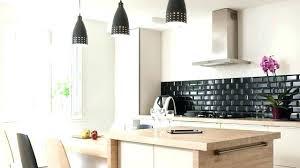 idee cuisine ouverte amacnagement cuisine cuisine avec ilot central