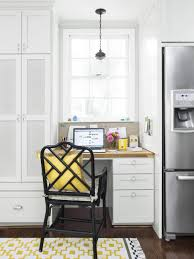 Kitchen Desk Cabinets A Multifunctional Kitchen Hgtv