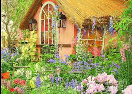 the english cottage the english cottage spring garden photograph by dora sofia caputo