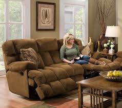 reclining sofa with power lower reclining back easier movement two