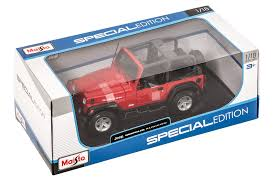 jeep cherokee toy maisto 1 18 scale jeep wrangler rubicon toy quadratec