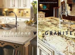 Kitchen Quartz Countertops by Compare Countertop Materials Silestone Vs Granite Vs Quartz U0026 Corian