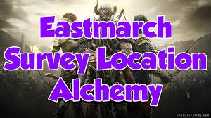 Eastmarch Ce Treasure Map Elder Scrolls Online Eastmarch Alchemy Survey Location Youtube
