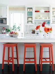 orange and white kitchen ideas versatile and bold kitchen designs