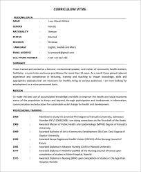 free nursing resume template jospar