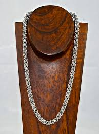 stainless steel rope necklace images Stainless steel rope neck chains anne gregory llc jpg