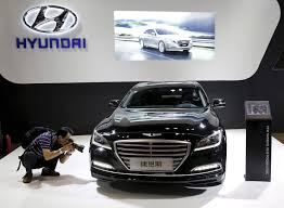 hyundai moves up a gear with luxury car brand the japan times