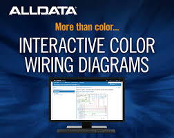 alldata adds new interactive color wiring diagrams to help techs