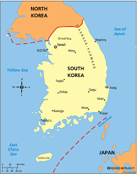 Map Of South Korea South Korea Car Industry Industry Overview Updated At February