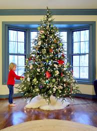 How To Trim A Real Christmas Tree - making homemade wood slice christmas ornaments young house love