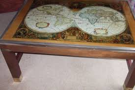 Map Coffee Table Stylish Gumtree Side Table With World Map Coffee Table Side Table