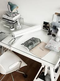 Computer Desk Inspiration Minimal And White Desk Inspo Work Spaces Pinterest White