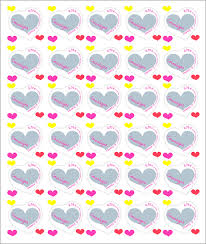 timbre poste mariage feuille de 30 timbres coeur courrèges boutique professionnels