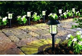 Landscape Path Lights Led Landscape Path Lights Outdoor Solar Garden Lighting Reviews