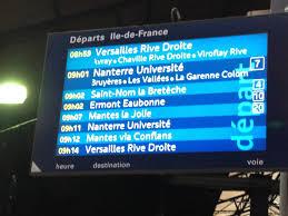 Laffichage De Lcran De Mon Pc Est Renvers L Affichage Des Trains Gare St Lazare Comment ça Marche