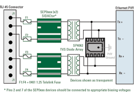 rs485 surge protection schematic weather resistant lightning