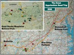 Great Smoky Mountains National Park Map May 2015 The Wild Edge
