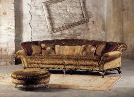Small Traditional Sofas Traditional Sofa Leather Fabric 3 Seater Liberty Berto Salotti
