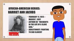 black history month educational for children harriet