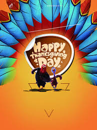 thanksgiving material thanksgiving poster design background material ai orange