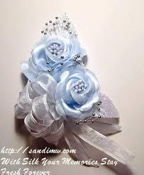 corsage wristlets prom silk flower wristlet wedding silk flower wristlet silk