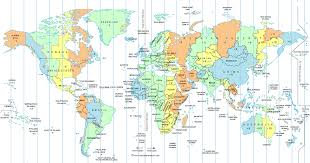Time Zone Map Florida by Usa Canada Time Zone Map Timetimezones Us Time Zones Map