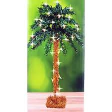 lighted palm tree kmart nantucket 18 lighted palm tree artificial 35 lights electric table top
