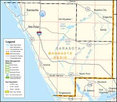 Florida Interstate Map by Southwest Florida Water Management District Sarasota County