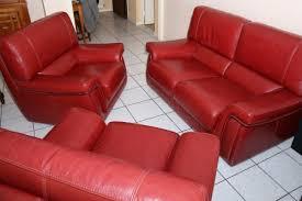 canapé et fauteuil cuir achat salon revendre meubles com
