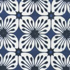 Batik Upholstery Fabric China Seas Barbados Batik Fabric In Navy New Navy On White 8250